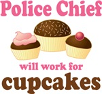 Funny Police Chief T-shirts and Gifts