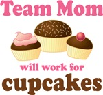 Funny Team Mom T-shirts and Gifts