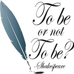 To Be Or Not To Be Shakespeare Quote Gifts