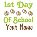 1st Day Of School Personalized T-shirts
