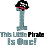 Pirate 1st Birthday I'm One T-shirts