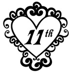 11th Anniversary Love Gifts and Mugs