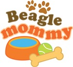 Beagle Mommy Pet Mom Gifts and T-shirts