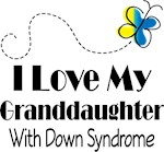 Down Syndrome Granddaughter Awareness Gifts