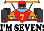 7th Birthday Race Car I'm Six T-shirts
