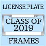 CLASS OF 2019 LICENSE PLATE FRAMES