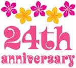 24th Anniversary Gift Hawaiian Themed