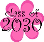 Class Of 2030 Retro Daisy Kids T shirts