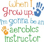 Future Aerobics Instructor Kids T-shirts