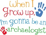 Future Archaeologist Kids T-shirts