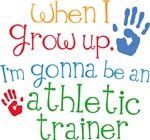 Future Athletic Trainer Kids T-shirts