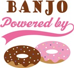 BANJO POWERED BY DONUTS T-shirts