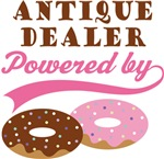 Antique Dealer Powered By Doughnuts Gift T-shirts