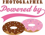 Photographer Powered By Donuts Gift T-shirts