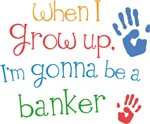 Future Banker Kids T-shirts