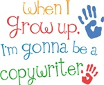 Future Copywriter Kids T-shirts