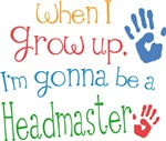 Future Headmaster Kids T-shirts