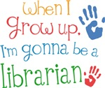 Future Librarian Kids T-shirts