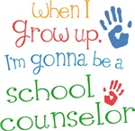 Future School Counselor Kids T-shirts