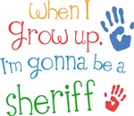 Future Sheriff Kids T-shirts