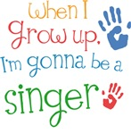 Future Singer Kids T-shirts