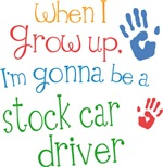 Future Stock Car Driver Kids T-shirts