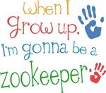Future Zookeeper Kids T-shirts