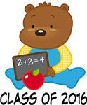 Teddy Bear 2016 Graduation Gifts and Tshirts