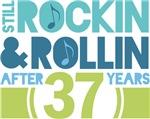 37th Anniversary Rock N Roll Tshirts