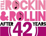 42nd Anniversary Funny Gifts and Shirts