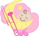 Trombone Baby Music Clothing