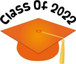 2022 School Class Graduation (Orange)