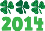 2014 Irish Shamrock St Patrick's T-shirts