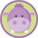 Baby Hippo Kids Tee Shirts