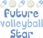 Future Volleyball Star Baby Apparel