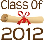 2012 School Class Diploma Design Gifts