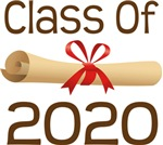 2020 School Class Diploma Design Gifts