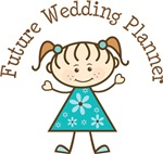 Future Wedding Planner Stick Girl Occupation Tees