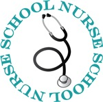 SCHOOL NURSE STETHOSCOPE T-SHIRTS