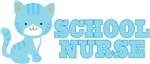 School Nurse Kitten Gift T-shirts