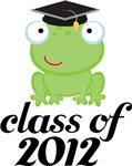 2012 Graduation Frog Gifts and Tshirts