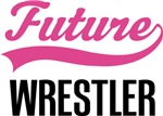 Future Wrestler Kids Occupation T-shirts