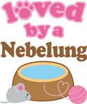 Loved By A Nebelung Tshirt Gifts