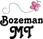 Bozeman Montana Butterfly T shirts