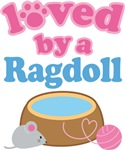 Loved By A Ragdoll Cat T-shirts