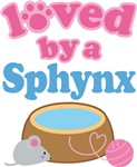 Loved By A Sphynx Cat T-shirts