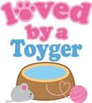 Loved By A Toyger Cat T-shirts