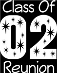 Class Of 2002 Reunion Tee Shirts