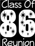Class Of 1986 Reunion Tee Shirts