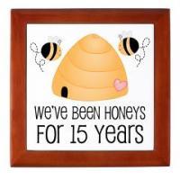 HONEY BEE WEDDING ANNIVERSARY GIFTS
